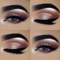 wedding photo - Shimmery Eye Makeup