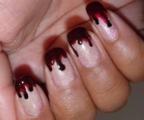 wedding photo - Bloody Nails
