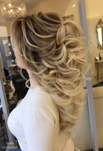wedding photo - 100 Wow-Worthy Long Wedding Hairstyles From Elstile
