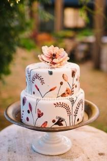 wedding photo - 14 Amazing Fall Cakes That Look Almost Too Beautiful To Eat