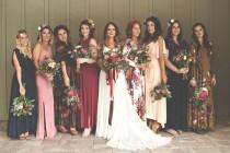 wedding photo - Boho Bridesmaid Dress