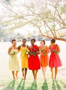 wedding photo - This Super Vibrant Set: