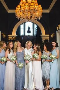 wedding photo - Johanna Johnson Wedding Dress Glamour For A September Wedding By The Sea