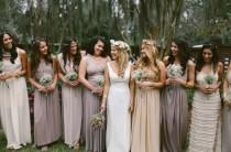 wedding photo - Neutral Color Palettes For Soft And Muted Weddings