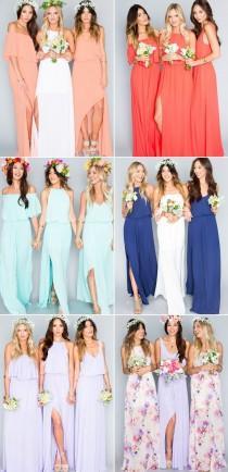 wedding photo - Themed Bridesmaid Dresses