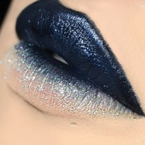 wedding photo - Ombre Navy Lip