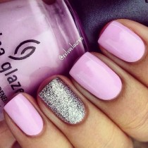 wedding photo - Our 15 Favorite Pink Quinceanera Nail Ideas