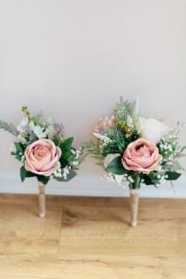 wedding photo - Jenny Packham's Eden And Pretty Pastel Flowers