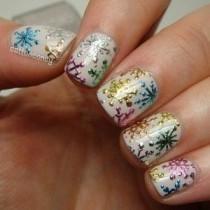 wedding photo - 31 Cute Winter-Inspired Nail Art Designs
