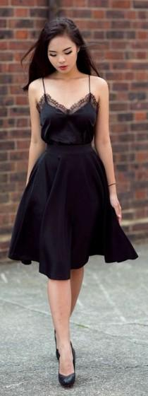 wedding photo - All Black Outfits - You Can't Really Go Wrong