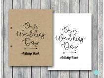 wedding photo - Wedding Kids Activity Book and Coloring, Wedding Kids Table Activities