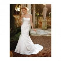 wedding photo - Casablanca Bridal 2037 Fit and Flare Wedding Dress - Crazy Sale Bridal Dresses
