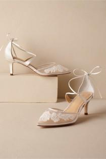 wedding photo - BHLDN's Bella Belle Lisbeth Heels In Ivory