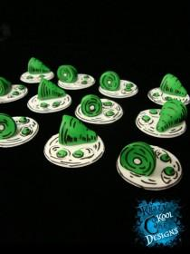 wedding photo - Green Eggs and Ham Cupcake Toppers