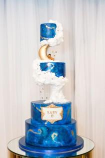 wedding photo - Our Over The Moon Baby Shower