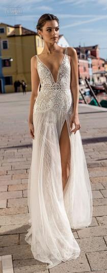 "wedding photo - Gali Karten 2018 Wedding Dresses — First Look At The ""Burano"" Bridal Campaign"