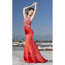 wedding photo - Shail K 4004 - Charming Wedding Party Dresses