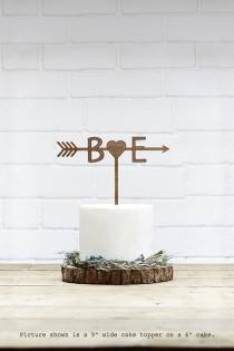 wedding photo - Customized Wedding Cake Topper Initials Personalized Cake Topper for Wedding,Custom Personalized Wedding Cake Topper,Monogram Cake Topper 28