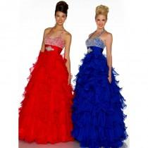 wedding photo - Ball Gowns by Mac Duggal 61323H - Fantastic Bridesmaid Dresses