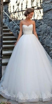 wedding photo - 100 Sweetheart Wedding Dresses That Will Drive You Crazy