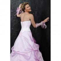wedding photo - Pia Benelli Prestige, Peniche lilas et glacee - Superbes robes de mariée pas cher