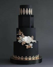 wedding photo - Black Cake