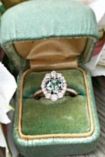 wedding photo - 24 Moissanite Engagement Rings That Sparkle Like A Diamond