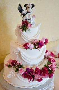 wedding photo - Jannette And Vincent's Fairy Tale Summer Disneyland Wedding