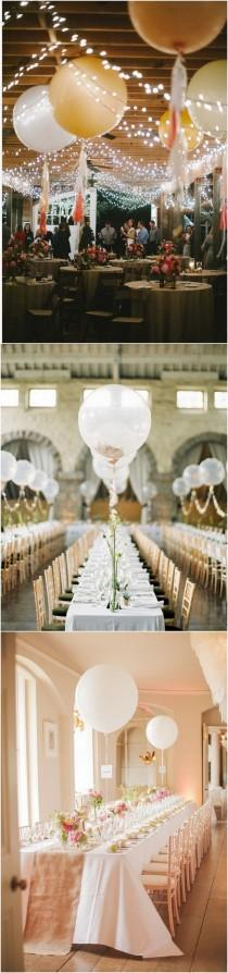 wedding photo - 18 Awesome Wedding Ideas To Use Balloons - Page 2 Of 2