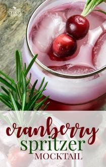 wedding photo - Cinnamon And Cumin-Infused Cranberry Spritzer