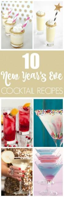 wedding photo - 10 Fun Cocktail Ideas For Your New Year's Party