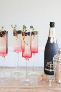 wedding photo - 10 Recettes De Cocktails Au Champagne