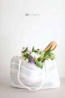 wedding photo - DIY Rope Bag