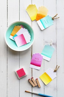 wedding photo - 10 More Fun DIY Watercolor Projects