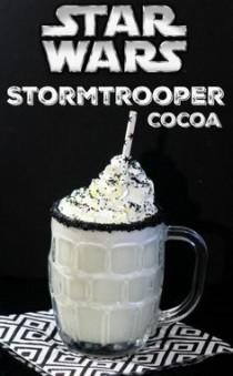 wedding photo - Star Wars Storm Trooper White Chocolate Cocoa