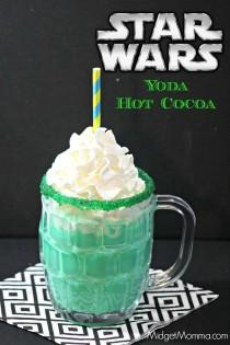 wedding photo - Star Wars Inspired Yoda Hot Chocolate