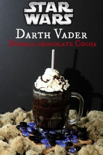 wedding photo - Star Wars Fans! Darth Vader Double Chocolate Cocoa Recipe #TheForceAwakens