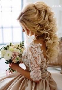 wedding photo - 33 Gorgeous & Pretty Wedding Hairstyles