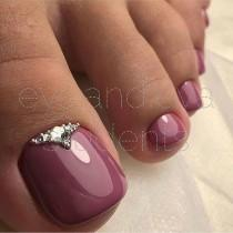 wedding photo - TOE NAIL ART