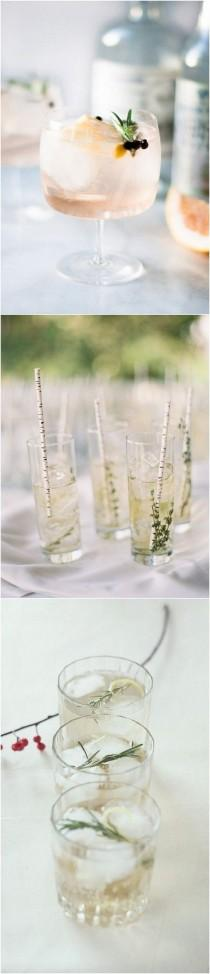 wedding photo - 15 Unique Wedding Signature Drink Ideas For Your Big Day