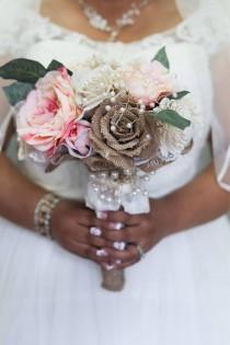 wedding photo - Rustic Elegance Bouquet