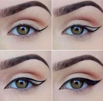 wedding photo - Winged Liner Tutorial