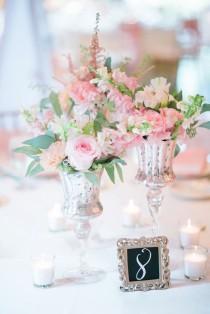 wedding photo - Tiny Wedding Centerpieces