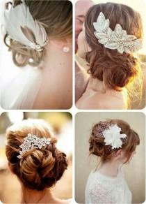 wedding photo - Прическа Для Свадьбы