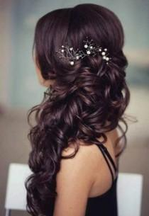 wedding photo - Wedding Hairstyles To The Side Best Photos - Page 3 Of 4