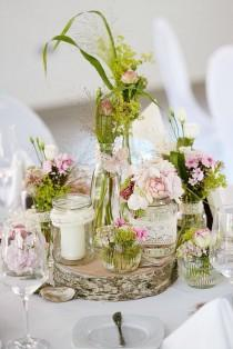 wedding photo - Wooden Stand For Centerpieces