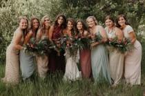 wedding photo - Colorado Woodland Wedding With A 1920s Twist