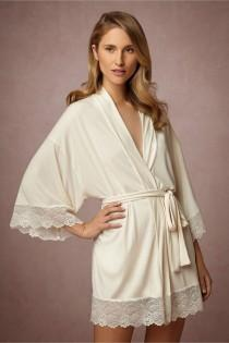 wedding photo - BHLDN's Flora Nikrooz Venezia Robe In Candlelight