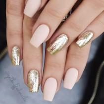 wedding photo - 18 Nude Nails Designs For A Classy Look
