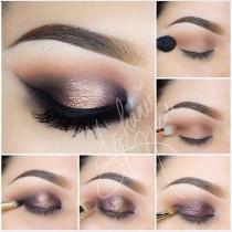 wedding photo - Iridescent Smokey Eye